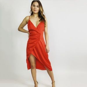 House of Harlow x Revolve Red Dress